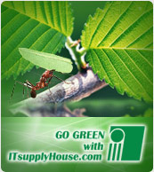 Go Green with ITsupplyHouse.com